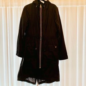 MICHAEL KORS 100% NYLON LIGHTWEIGHT RAIN COAT SZ L